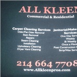 All Kleen Pros Logo
