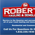 Roberts Hauling & Demolition Cover Photo