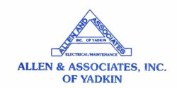 Allen and Associates Incorporated of Yadkin Logo