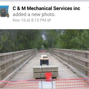 C & M Mechanical Services llc Logo