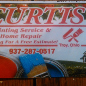 Curtis Painting & Home Repair Logo