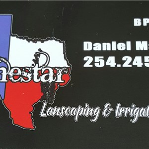 Lonestar Landscaping and irrigation Logo