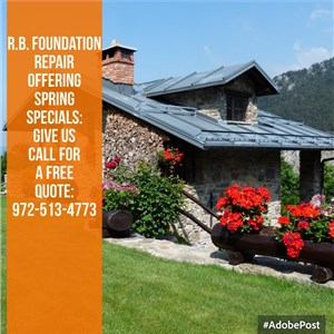 R.b. Foundation Repair Inc. Logo