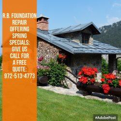 R.b. Foundation Repair Inc. Logo