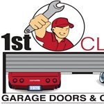 1st Class Garage Doors and Openers Logo