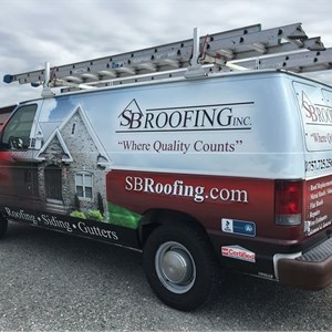 S B Roofing Inc Logo