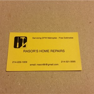Rasors Home Repairs Logo