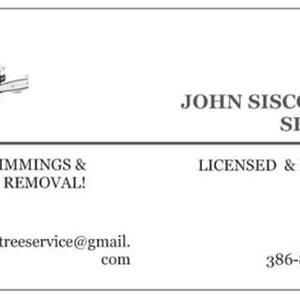 John Sisco tree Service Logo
