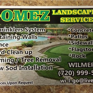 Gomez landscaping services Cover Photo