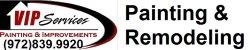 VIP Services - Painting & Improvements Logo