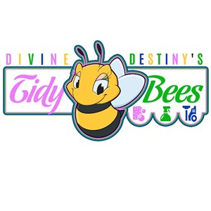 Divine Destinys Tidy Bees Cleaning Logo