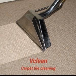 V Clean Carpet Cleaning Logo