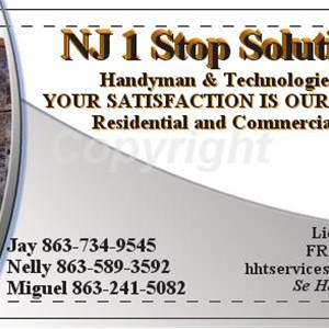 NJ 1 Stop Solutions Logo