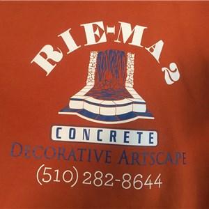 Rie Ma2 Concrete Logo