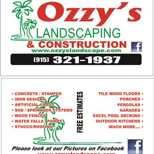 Ozzys Landcaping Cover Photo