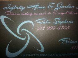 Infinity Home & Garden Services Logo