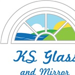 KS Glass & Mirror Logo