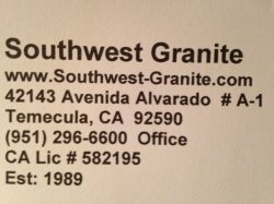 Southwest Granite Logo