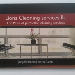 Lions Cleaning Services LLC Logo
