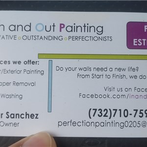 In and Out Painting Logo