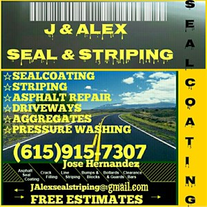 J&alex Seal&striping Cover Photo