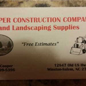Cooper Construction Service Logo