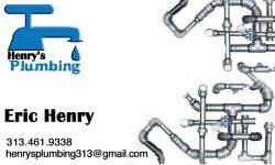 Henrys Plumbing Logo