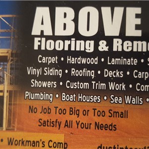 Above All Flooring & Remodeling Logo