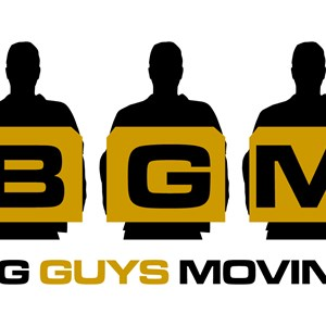 Big Guys Moving Logo