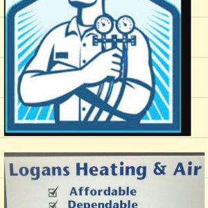 Logans Heating & Air Logo