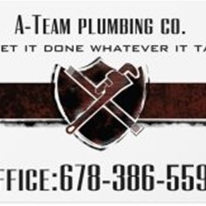 A-Team Plumbing co. Logo
