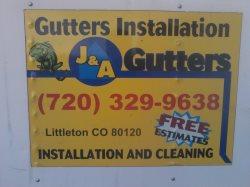 J & A Gutters LLC Logo