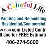 A Colorful Life Painting & Remodeling Logo