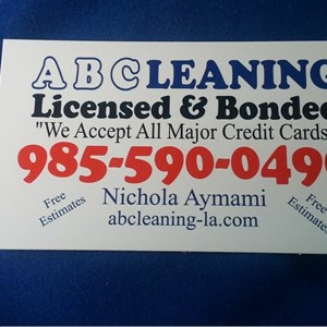 A Cleaning Logo