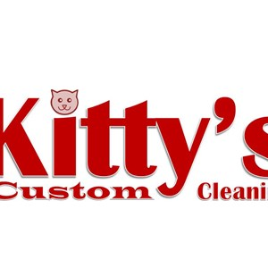 Kittys Custom Cleaning Logo