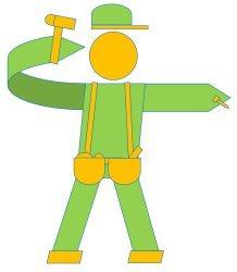 Handyman Elmo Logo