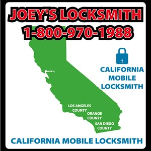 Joeys Locksmith Logo