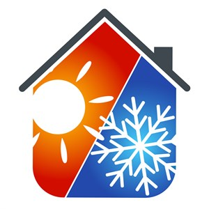 Comfort Heating & Air-conditioning Service Logo