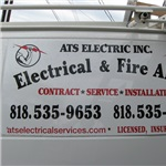 A-t-s Electric & Fire Alarm Logo
