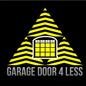 MN Garage Door 4 Less Logo