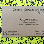 Custom Concrete Countertops Logo