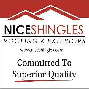 Nice Shingles Roofing & Exteriors Logo