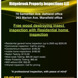 Ridgebrook Property Inspection LLC Logo