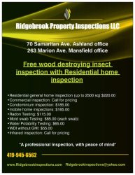 Ridgebrook Property Inspection LLC Logo