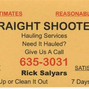 Straight Shooters Hauling Services Cover Photo