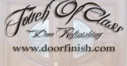 Touch of Class Door Refinishing Logo