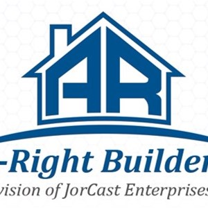 Jorcast Enterprises DBA, A-Right Builders Logo