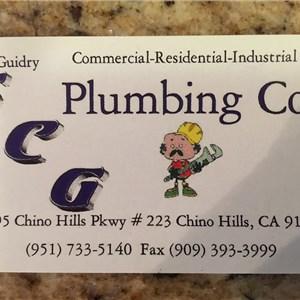 Scg Plumbing Co Logo
