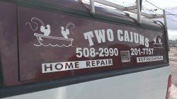 Two Cajuns Refinishing Logo