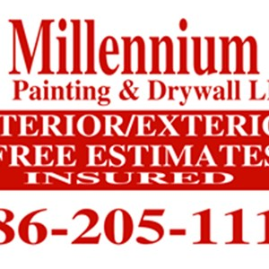 Millennium Painting and Drywall LLC Logo